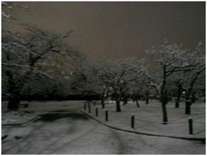 March Snow Castle
