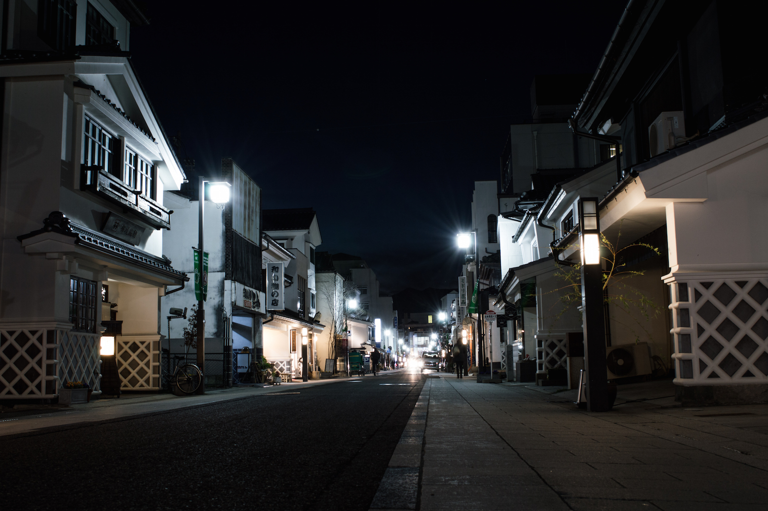 Matsumoto by night